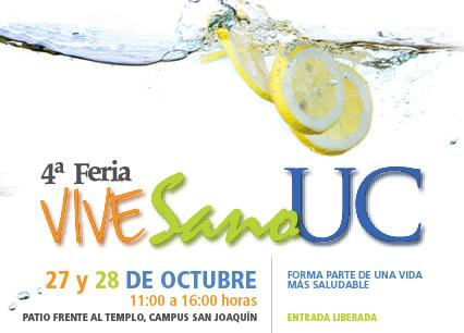 Feria Vive Sano UC 2015