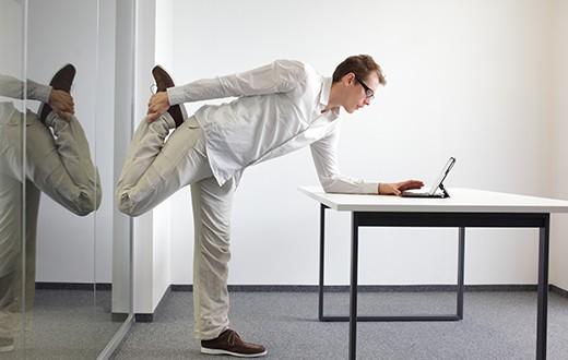 Actividad física en el trabajo: sí se puede